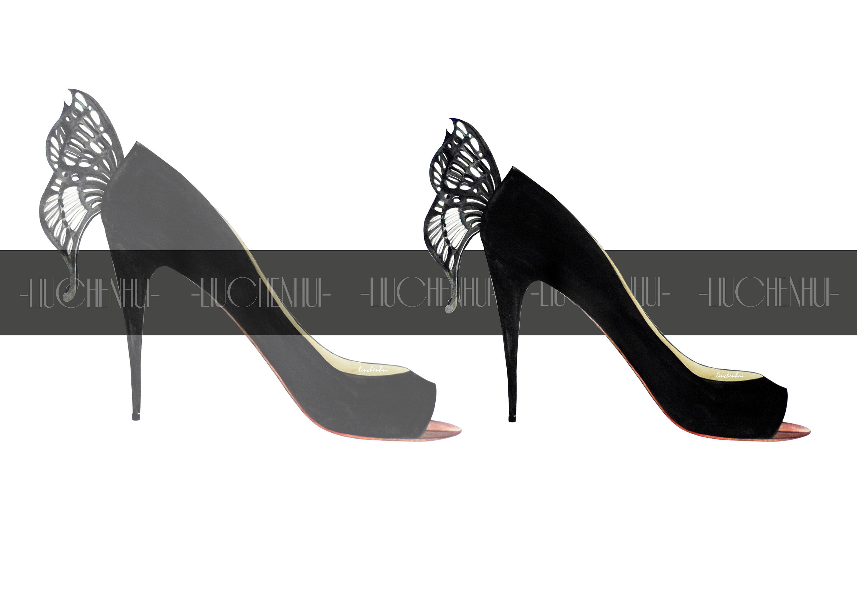 手绘高跟鞋#high heels -2014始
