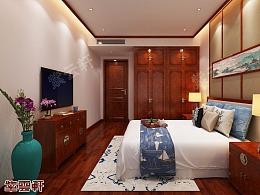 中式设计客厅设计图卧室设计图