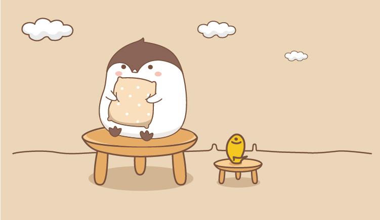 小企鹅咕叽_微信表情图片