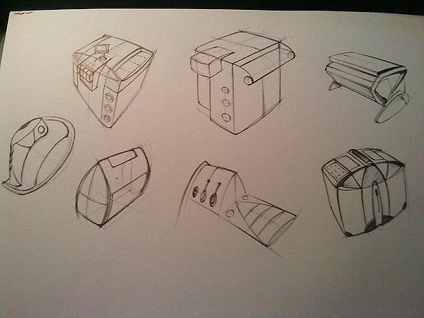 工业设计手绘练习,曾经的每日一练