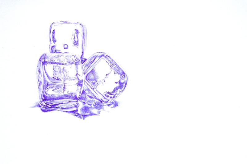 oy手绘:冰