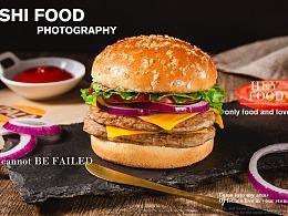 快餐时代|派乐汉堡拍摄