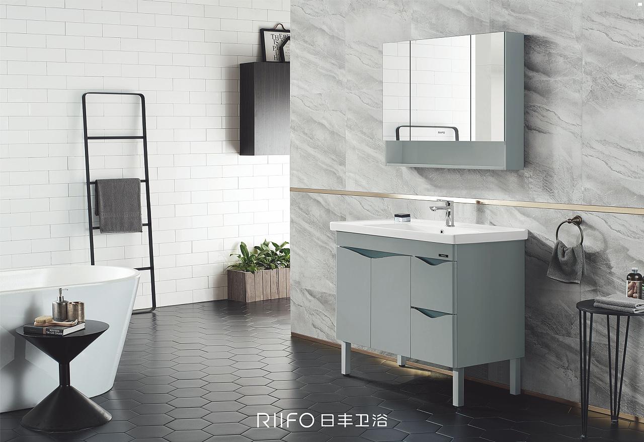 日丰浴室柜&浴室柜装修效果图