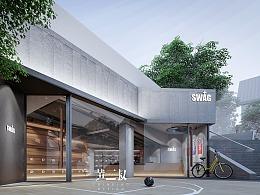 《SWAG+》潮牌店设计