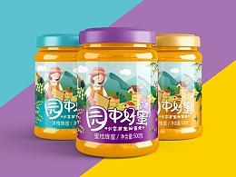 善行研创—园中好蜜品牌策划蜂蜜包装设计