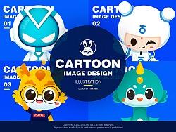 2018吉祥物卡通形象部分案例展示