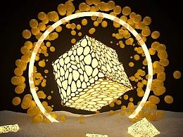 MAGIC C4D抽象几何体案例的案例教程