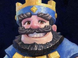 《皇室战争》国王