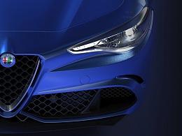 Alfa Romeo CGI