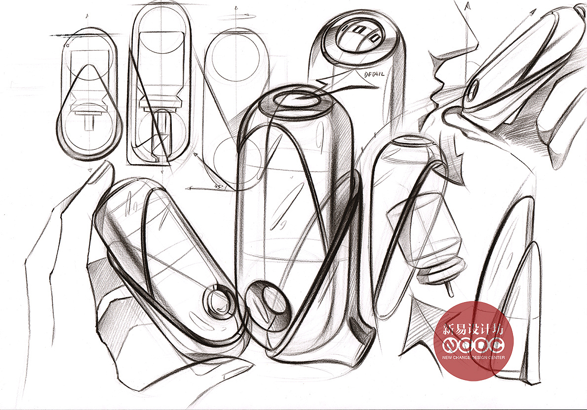 工业设计手绘 -新易设计坊