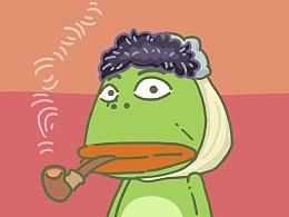 大嘴蛙的世界名人cos秀
