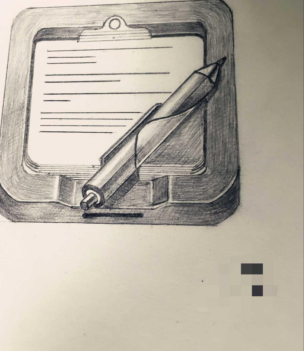 手绘记事本