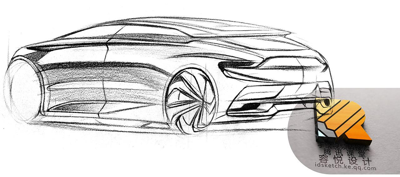 北京  |  产品设计师 汽车设计手绘表现33——工业设计产品设计汽车图片