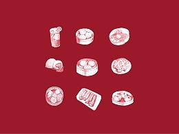 囍点-港式茶点餐厅-品牌设计