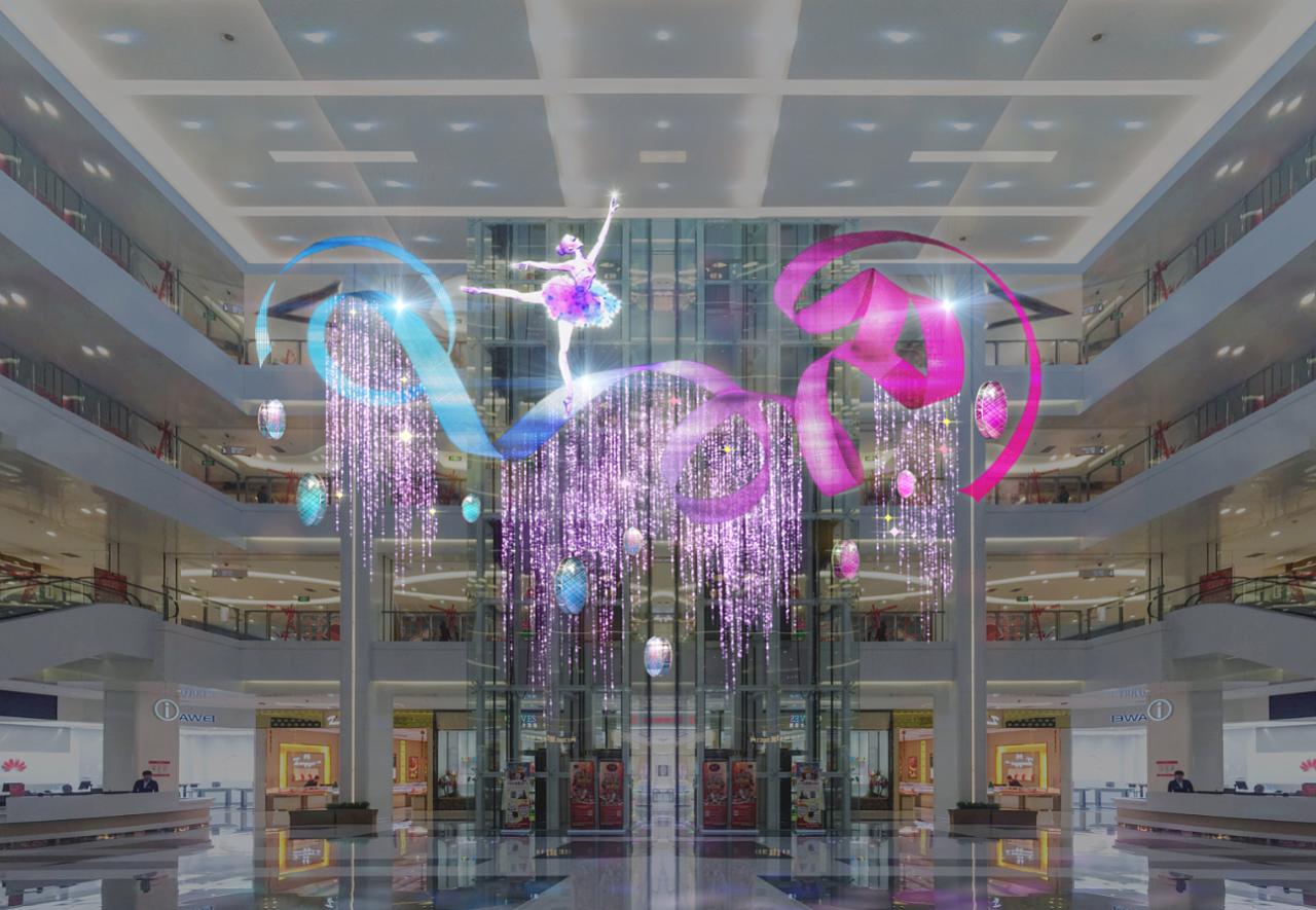商场春节中庭美陈装饰-上海美陈网