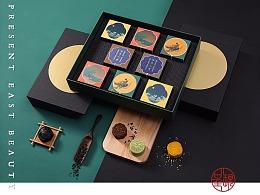 《中秋月饼礼盒》自然造物x桂满陇x完美呈现