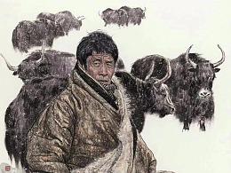 刘少宁最新国画人物作品