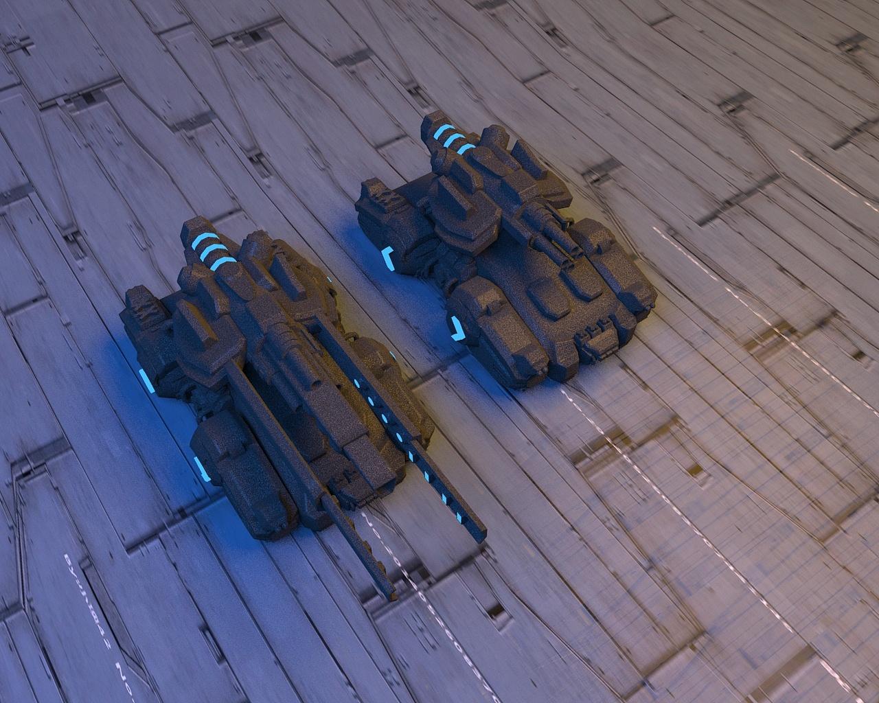 电磁轨道炮制作_坦克带着个电磁轨道炮,有两种模式,一个