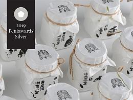 2019年第13届Pentawards银奖【潮州三宝】木刻风格包装
