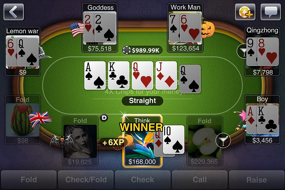 德州扑克-至尊版 iphone 设计