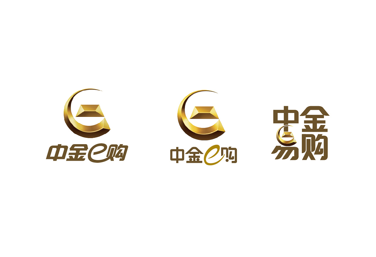 中国黄金标志logo