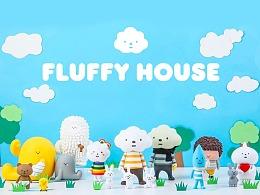 FLUFFY HOUSE白云家族IP-香港超强治愈力的潮玩艺术公仔研究报告分享