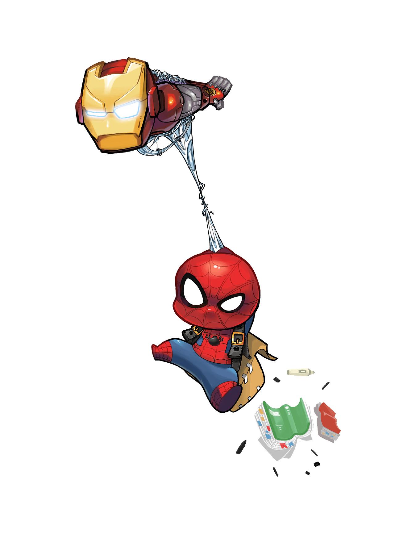 蜘蛛侠 英雄归来 小蜘蛛同人