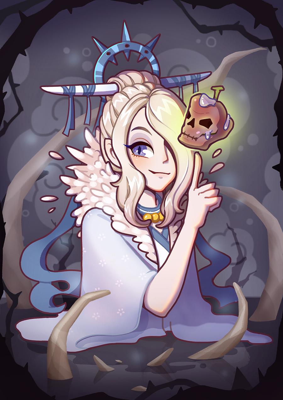白骨公主——骷髅苹果