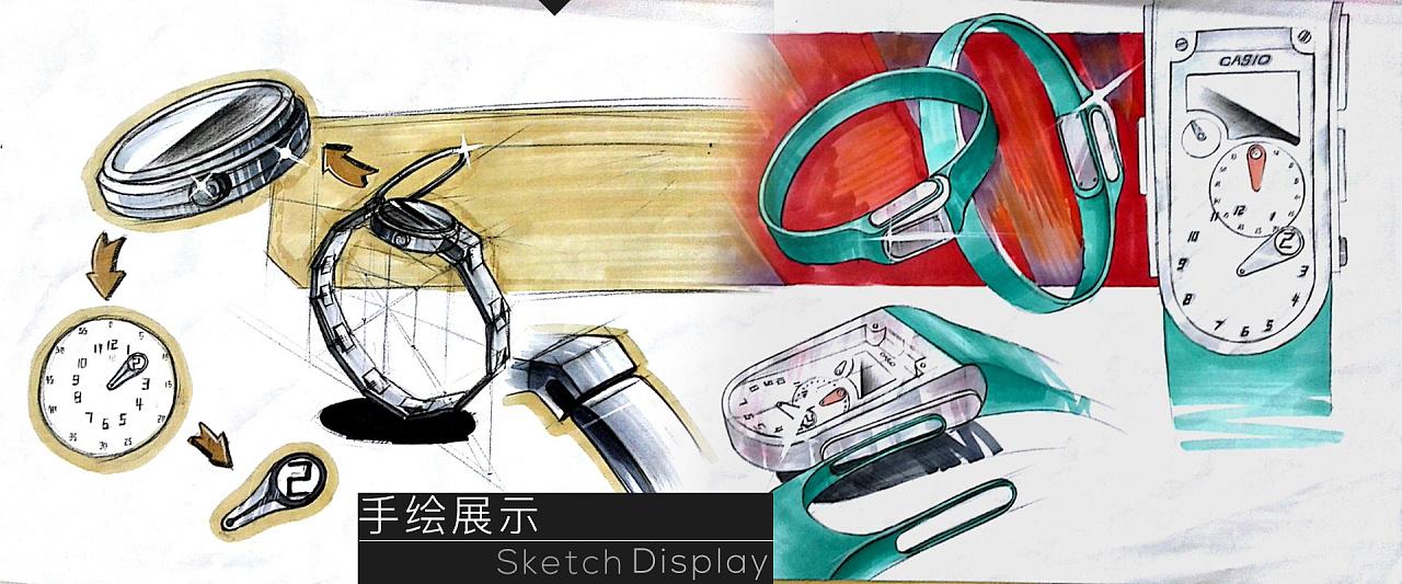 产品设计作业-1-腕表/手表设计