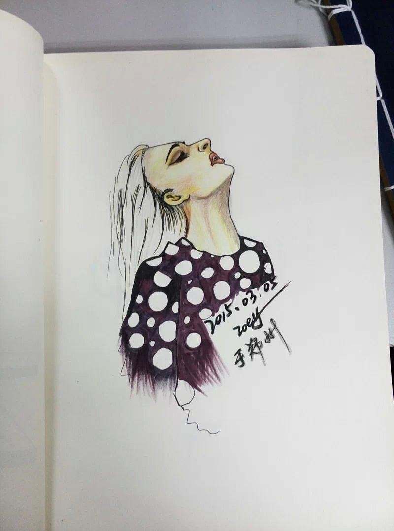 手绘作品集