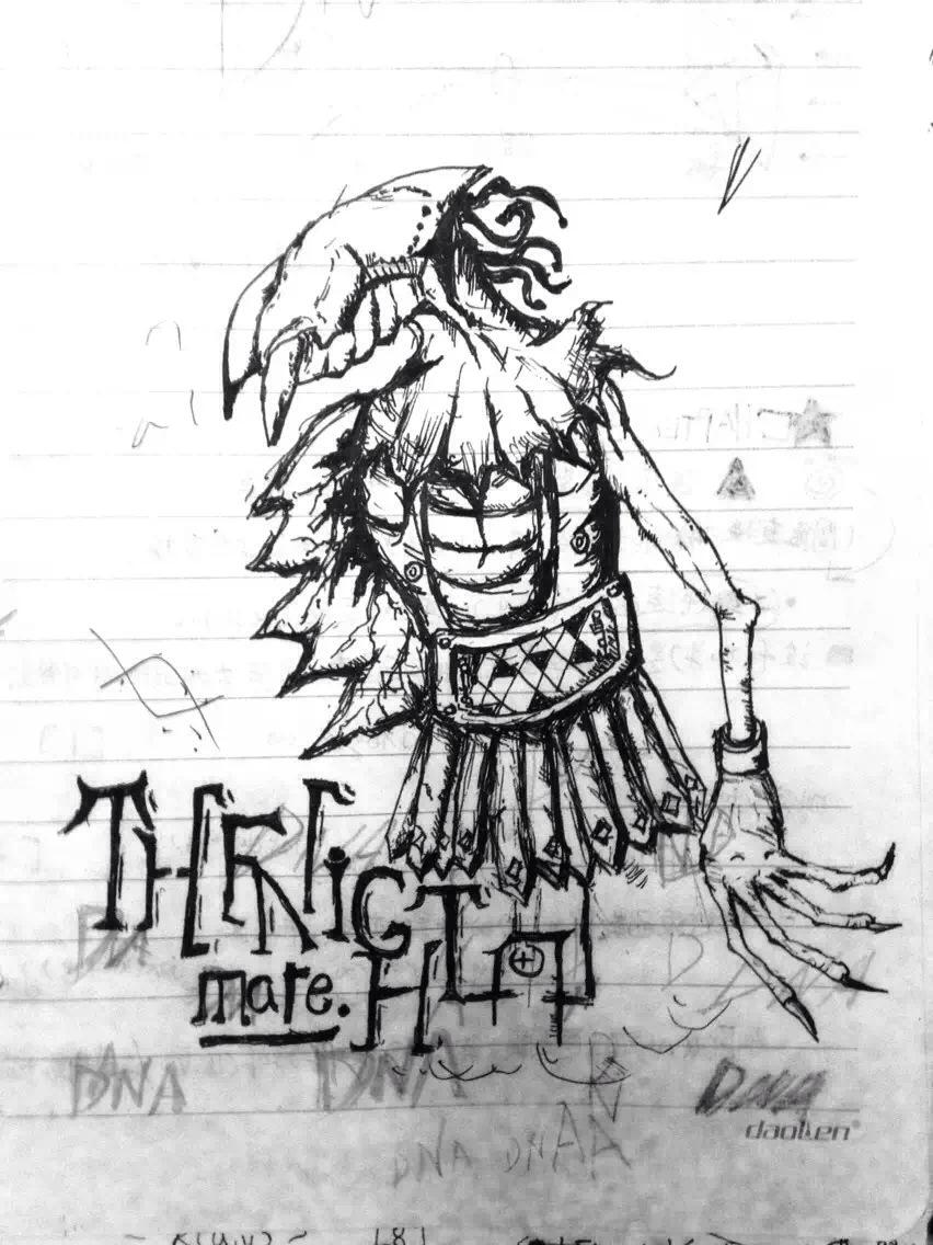 游戏概念设计,手绘图稿
