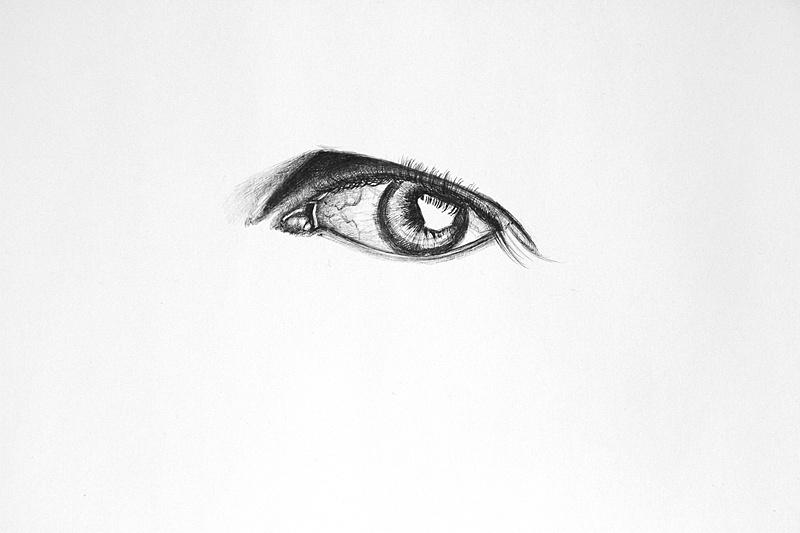 OY圆珠笔画 眼睛