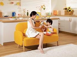 #甲乙丙丁#皇宠LOVEKING儿童餐具