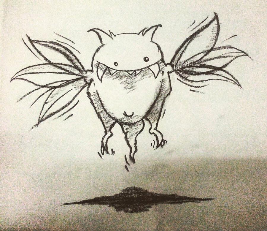 手绘黑白铅笔练习|商业插画|插画|lanhuaxiangkou