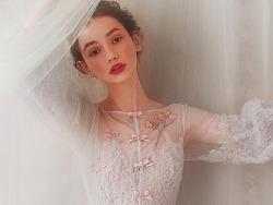 绛珠雪,婚纱设计师兰奕2018新款