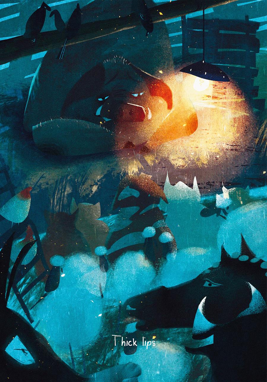 查看《百词斩阅读计划-《动物庄园》封面以及插图》原图,原图尺寸:907x1298