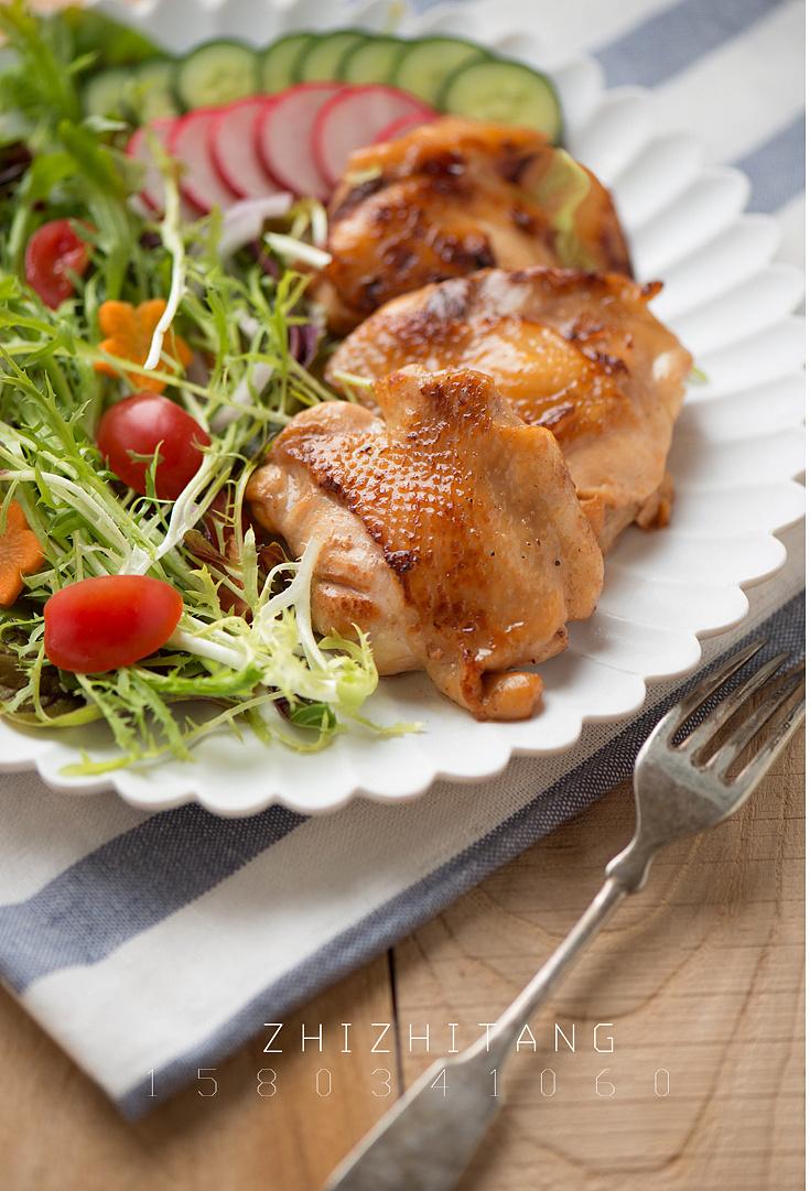 太原美食摄影电商菜谱外卖拍照做法拍摄菜品设计制作仙庙食品里的烧鸡排骨图片