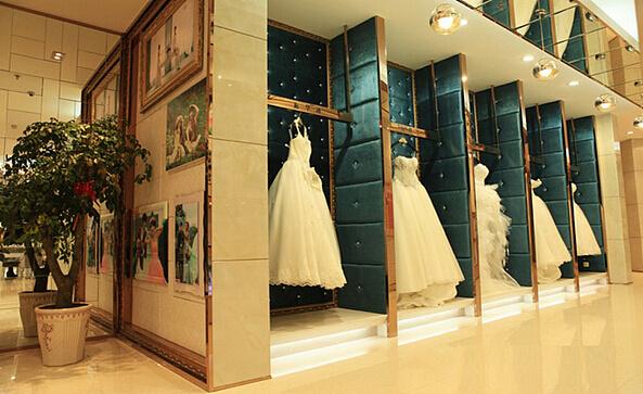 施华洛婚纱摄影店 成都婚纱店装修 成都工作室装修图片