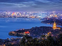 杭州西湖,虎跑,龙坞茶村