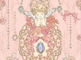 Lolita柄图设计
