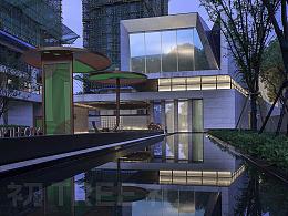 「建筑摄影」上海万科西郊都会售楼处