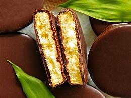  贰摄  被巧克力撩到的蛋糕干