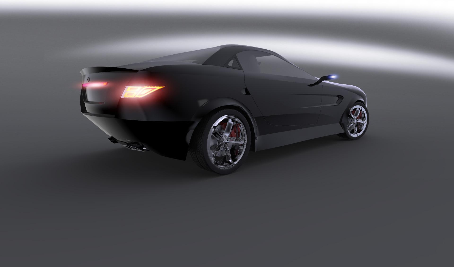 奔驰概念车设计