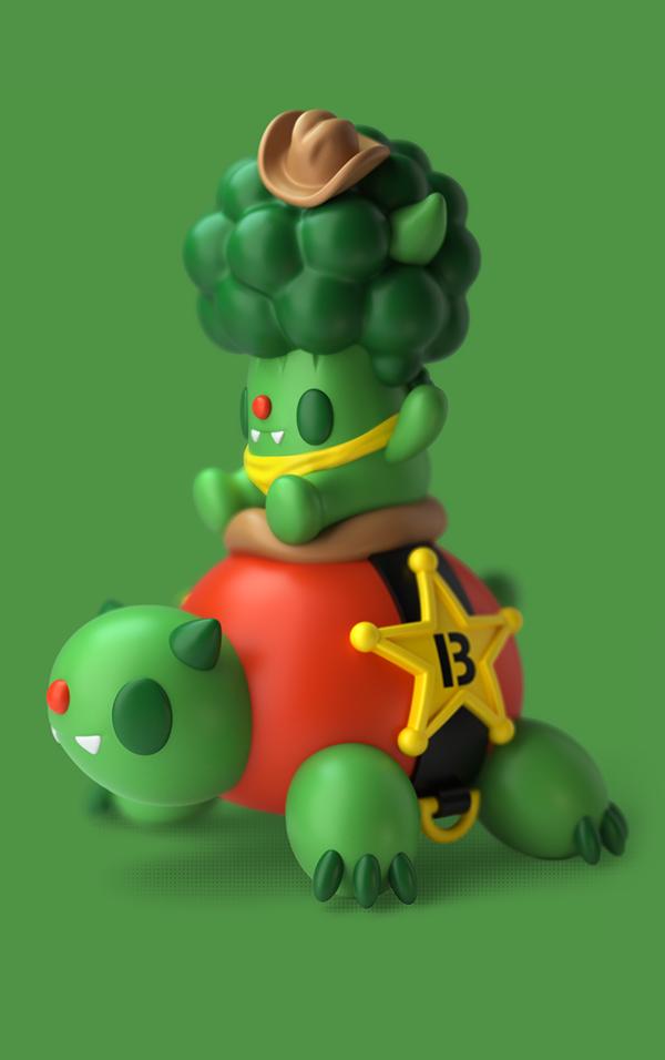 乌龟玩具设计|工业/产品|玩具|创意宝 - 原创作品图片