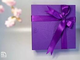 中秋月饼茶礼盒包装设计