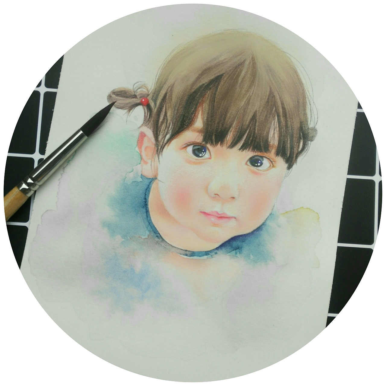 原创手绘|彩铅手绘