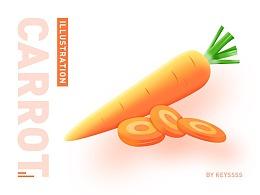蔬菜插画-微质感