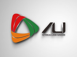 非洲联盟Africa link union—logo标志设计