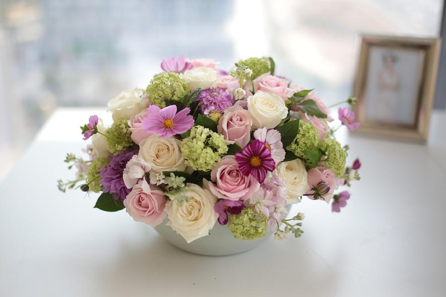 鲜花 前台花 桌花 瓶插花 餐桌花 茶几花 办公桌花 老总办公室花 签到台