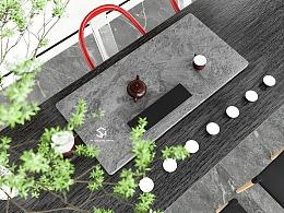 #D5 Render 现代茶室渲染